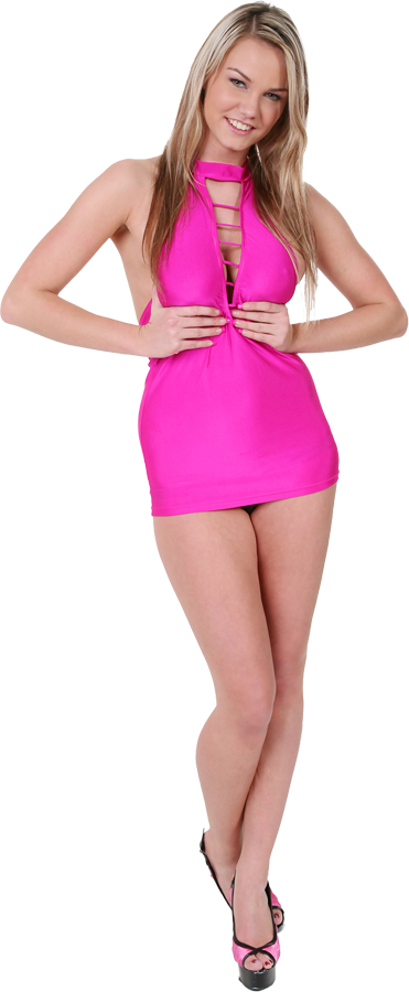 Eliska Pink bar istripper model