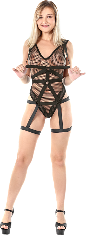 Bogdana Strap Wrap istripper model